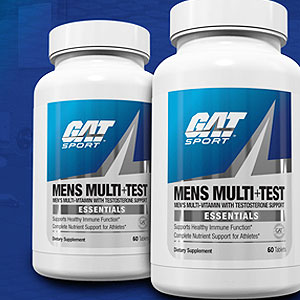 G.A.T. Men's Multi + Test