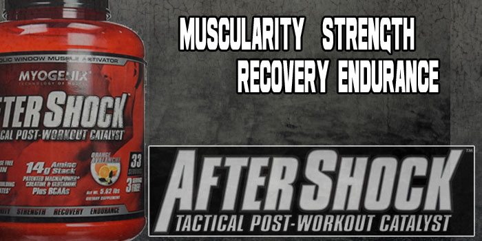 Myogenix AfterShock - Strength And Recovery Formula!