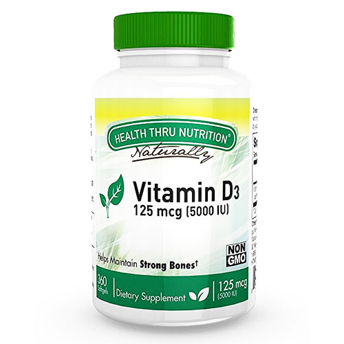 Health Thru Nutrition Vitamin D3